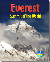 Everest guidebook cover by Harry Kikstra