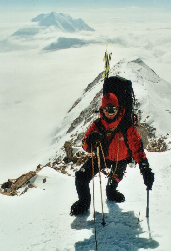 Harry on 17k ridge