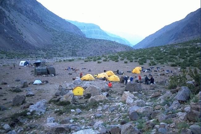 Las Lenas Camp