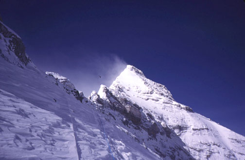 2nd step and summit pyramid