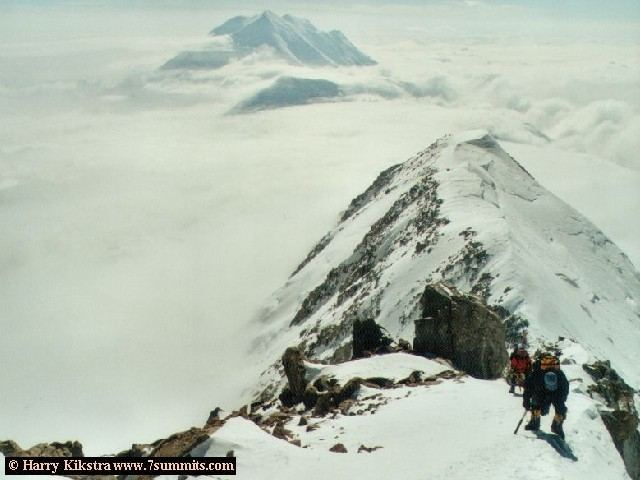 Down 17k ridge