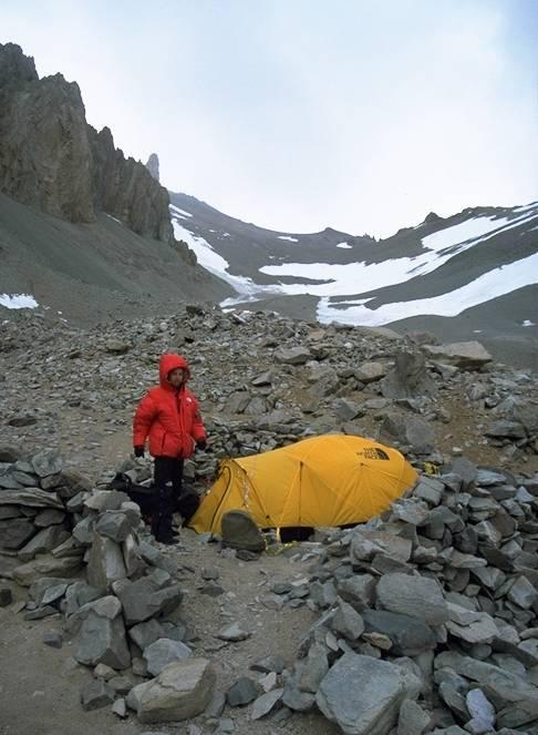Erik at camp I