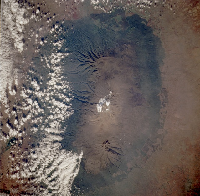 Kilimanjaro from Space shuttle