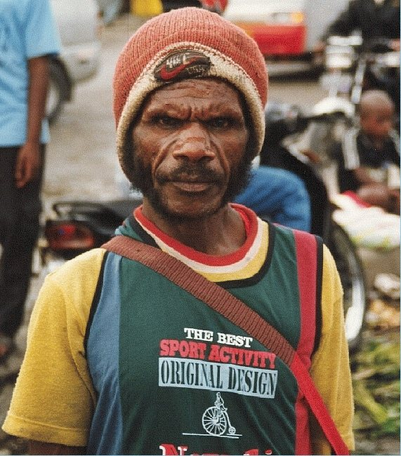 Papua man in Timika